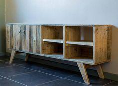 El aspecto escandinavo manijas de muebles de madera