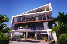 Contemporary Custom Home by Design Styles Architecture, Tampa, FL