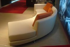 Two Piece Curved Sectional, Curved Sectional Sofa from Opulent ...