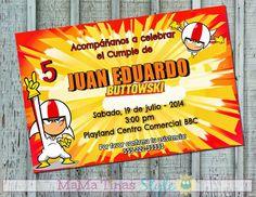 Fiesta Kick Buttowski - Party Labels - Ideas fiestas Kick Buttowski - Etiquetas para fiestas personalizadas - Tarjetas Invitaciones Kick Buttowski