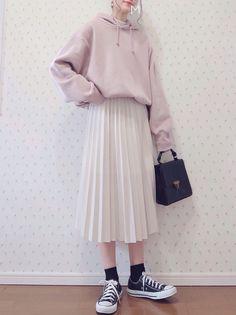 Modest Fashion Tips .Modest Fashion Tips Korean Fashion Trends, Korean Street Fashion, Korea Fashion, Muslim Fashion, Asian Fashion, Hijab Fashion, Kawaii Fashion, Cute Fashion, Look Fashion