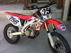 My 2008 Honda CRF450X