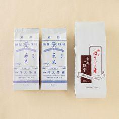 煎茶「嘉木」煎茶「薫風」極上ほうじ茶100g袋入|商品詳細|高島屋オンラインストア Beverage Packaging, Food Packaging, Food Branding, Promotional Design, Asian Design, Multigrain, Package Design, Label, Packing