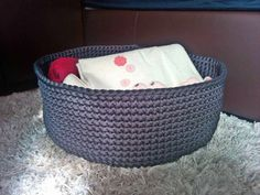 Crochet basket, storage basket, rope basket, toy storage, large basket, housewarming gift, baby hamper, toy storage bin, basket crochet by MonoMeyStudio on Etsy Nursery Storage Baskets, Toy Storage Bins, Basket Storage, Baby Hamper, Laundry Baskets, Rope Basket, Large Baskets, House Warming, Unique Jewelry