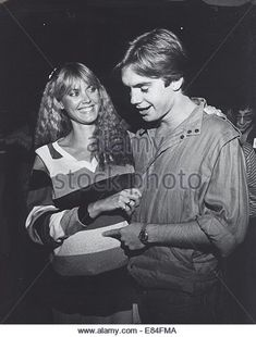 SHAUN CASSIDY with wife Ann Cassidy ( expecting baby in 4 weeks © Ralph Dominguez/Globe Photos/ZUMA Wire/Alamy Live News - Stock Image