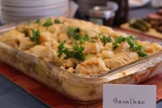 Bacalhao no Forno (Sustainable Baked Salt Cod. Note that most cod is not sustainable.)