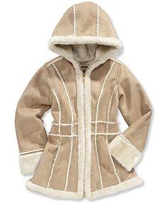 Girls Shearling Coat - Coat Nj