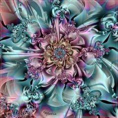 """In Plain Sight"" - art by Mookiezoolook, via deviantArt Fractal Geometry, Sacred Geometry, Fractal Images, Fractal Art, Fractal Design, Art Pictures, Illusions, Fantasy Art, Abstract Art"