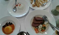 Wonderful food aboard the Pacific Pearl