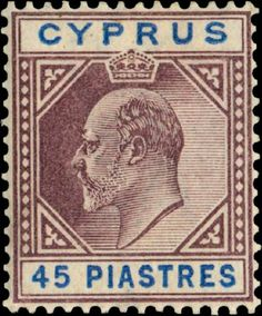 Reprints & forged Stamps of Cyprus - Genuine vs. Ex Yougoslavie, Crown Colony, King Edward Vii, Old Stamps, The 5th Of November, Ottoman Empire, Stamp Collecting, World War I, Great Britain