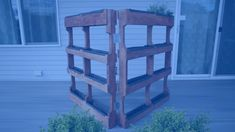, The folding garden is perfect for turning a small space into a beautiful place. , The folding garden is perfect for turning a small space into a beautiful place. Backyard Projects, Outdoor Projects, Pallet Garden Projects, Pallet Gardening, Garden Pallet, Pallet Fence, Gardening Quotes, Outdoor Ideas, Organic Gardening