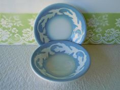 Vintage 1961 Bowls Syracuse Restaurant Ware China by RecycledWares, $15.99