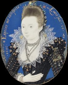 Hilliard Portrait of a Young Lady 1605 - User:PKM/16th/2 - Wikimedia Commons