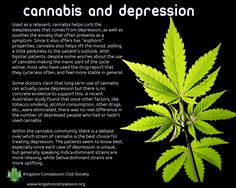 Cannabis & Depression -