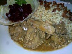 Kuracie pečienky naruby s tarhoňou (fotorecept) Ale, Meat, Chicken, Food, Beef, Meal, Ale Beer, Essen, Hoods