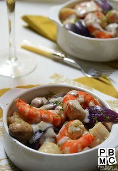 navarin au fruits de mer et sauce chablis                                                                                                                                                                                 Plus