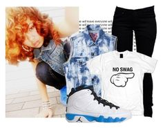 Don't talk to me 'bout style, nigga, I'll mothafuckin' embarrass you. by cheerstostyle on Polyvore featuring polyvore fashion style Boohoo Retrò clothing