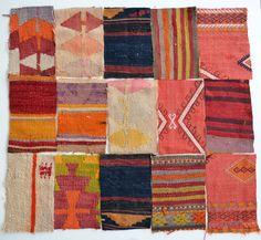 Sukan / Modern Bohemian Throw Material Handwoven Wool by sukan