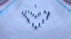 Olympic skiers pay heart-shaped tribute to Sarah Burke