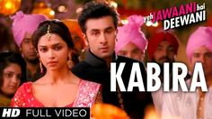 """Kabira is a song with a Sufi touch from Ranbir kapoor, Deepika Padukone starrer movie """"Yeh Jawaani Hai Deewani. Check out YJHD FULL VIDEO SONGS -  Kabira song is in amazing voice of Tochi Raina, Rekha Bharadwaj, It is a falling-in-love song that is easy on the ears. The music is by Pritam while lyrics are penned by Amitabh Bhattacharya.  Song: KABIRA Singer: TOCHI RAINA, REKHA BHARDWAJ Lyrics: AMITABH BHATTACHARYA Music: PRITAM Movie: YEH JAWAANI HAI DEEWANI Music On: T-SERIES"""