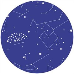 Lizzy House Constellation fabric