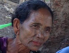 Tattooed Women of the Chin Villages