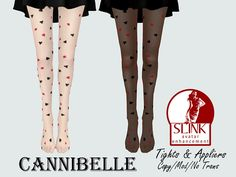 ~Cannibelle~ Card Shark Tights with SLink Appliers | Flickr - Photo Sharing!