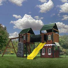 Prescott Wood Complete Play Set Kit | Shop at Swing-N-Slide