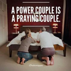 Praying couples stay together