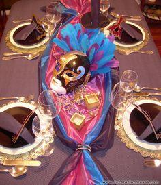 1000 images about centros de mesa y decoracion de mesas - Decoracion de carnaval ...