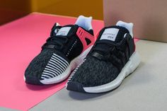 adidas EQT Support 93/17 (Black/Turbo Red)