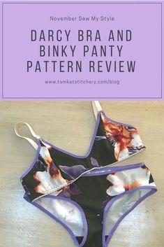 November Sew My Style: The Darcy Bra and Binky Panties By Evie La Luve (TomKat Stitchery) Bra Pattern, Binky, Pdf Patterns, Evie, Kitten Heels, November, Couture, My Style, Handmade