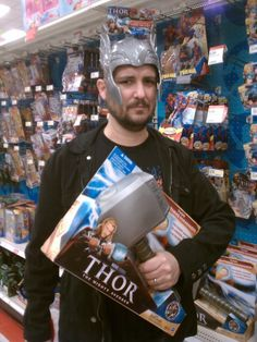 Whosoever holds this hammer, if he be worthy, shall possess the power of Wil Wheaton!