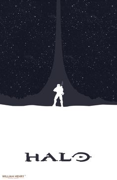 HALO POSTER By William Henry