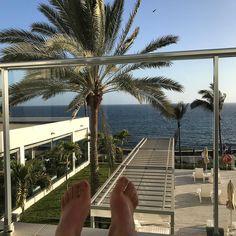 Chillen  auf dem Balkon #RiuPalaceMeloneras #Meloneras #GranCanaria #CanaryIslands #Spain # @riuhotels