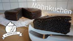 Saftiger Mohnkuchen mit nur 5 Zutaten