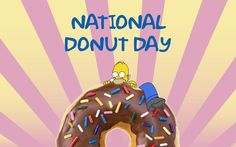 National Donut Day 2013 Wallpaper HD 1080p