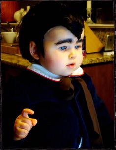 Ahhhhh. Eddie Munster (is really a gorgeous baby girl....) It's the Modern Kiddo Costume Parade! – Modern Kiddo