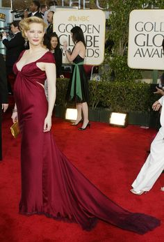 Actress Cate Blanchett attends the Annual Golden Globe Awards at the Beverly Hilton Hotel on January 2004 in Beverly Hills, California. Get premium, high resolution news photos at Getty Images Maternity Wear, Maternity Dresses, Celebrity Gowns, Celebrity Maternity, Balenciaga Dress, Pregnant Celebrities, Strapless Dress Formal, Formal Dresses, Red Carpet Gowns