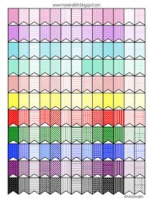 MsWenduhh Planners & Printables: Colorful Little Flags Stickers To Use As Indicators or Just Decoration + Link to How to Make Your Own Stickers