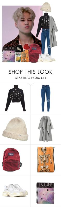 """Untitled #513"" by danielagreg ❤ liked on Polyvore featuring David Koma, Wood Wood, JanSport and Balenciaga"