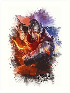 YASUO - The Unforgiven by Naumovski    #illustration #print #poster #art #games #gaming #quotes #gift #artwork #meme #leagueoflegends #pentakill  #funny #humor #streetwear #popculture #artist #videogames #game #decor #yasuo    #tshirt #apparel --> Feel free to check out MORE ARTWORKS here --> https://linktr.ee/naumovski.dusan