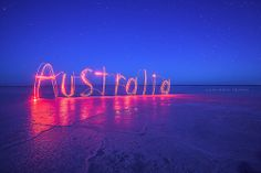 Australia...I want a picture like this when we go back to florida!