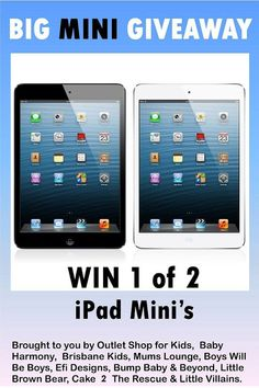 Great Giveaway you could win an Ipad mini!!!