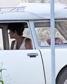 100 Memorable Celebrity Wedding Moments - Halle Berry from #InStyle  62
