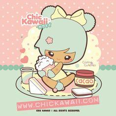 Chic Kawaii: Kawaii breakfast! Merienda kawaii! sweet!