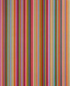 Bridget Riley, Saraband, 1985 - shows the connection to Paul Smith Bridget Riley Op Art, Opt Art, Hard Edge Painting, Kinetic Art, Colour Field, Geometric Art, Sculpture, Print Patterns, Doodle Patterns