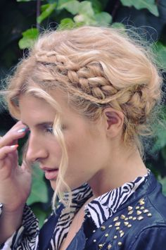DIY Braid Crown
