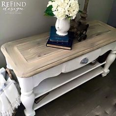 The Pine top of this table was given a new look with Reclamation Weatherwood Stain.  More information available at ThomasMachInteriors.com  #Weatherwoodstains #reclaimedwood #salvagedwood #homedecor #homedecorideas #inspiration #interiordesign #interiordesignideas