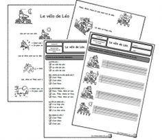 Le vélo de Léo, lecture, compréhension, Cp, autonomie Leo, Cycle 2, France, Comprehension, Sons, Phrases, Math, Homeschooling, School Ideas